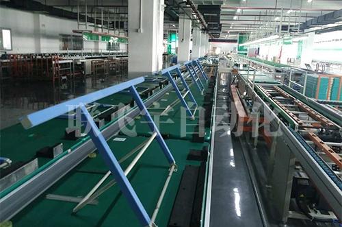 大屏彩电生产线